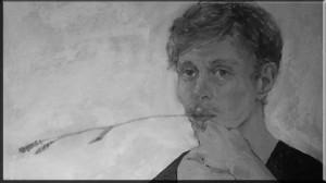 James Ci, artist, self-portrait