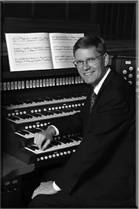 James Welch, organist, photo