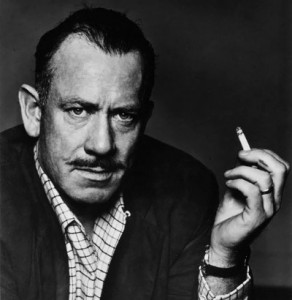 John Steinbeck, author of The Grapes of Wrath and East of Eden
