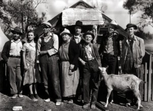 Henry Fonda and the Grapes of Wrath cast