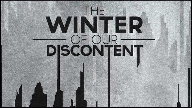 Image of title page from The Winter of Our Discontent
