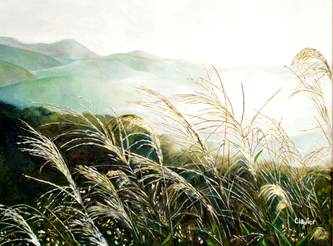 The Wild Oats painting by Ron Clavier