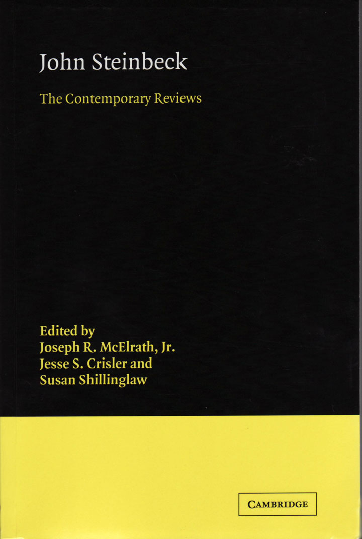 John Steinbeck: The Contemporary Reviews book cover