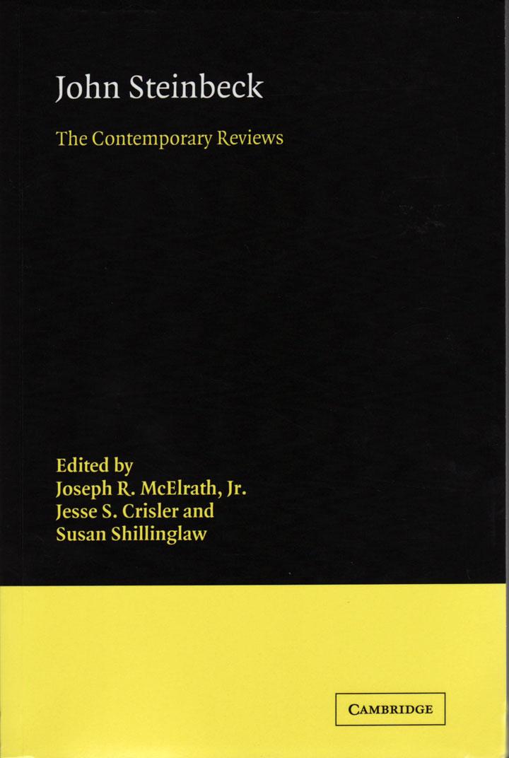 John Steinbeck: The Contemporary Reviews book cover