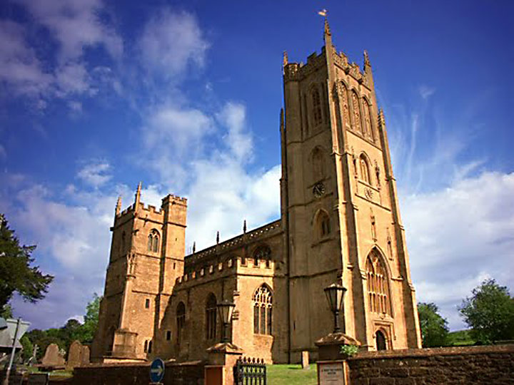 St. Mary, a Church of England building, pictured in Somerset
