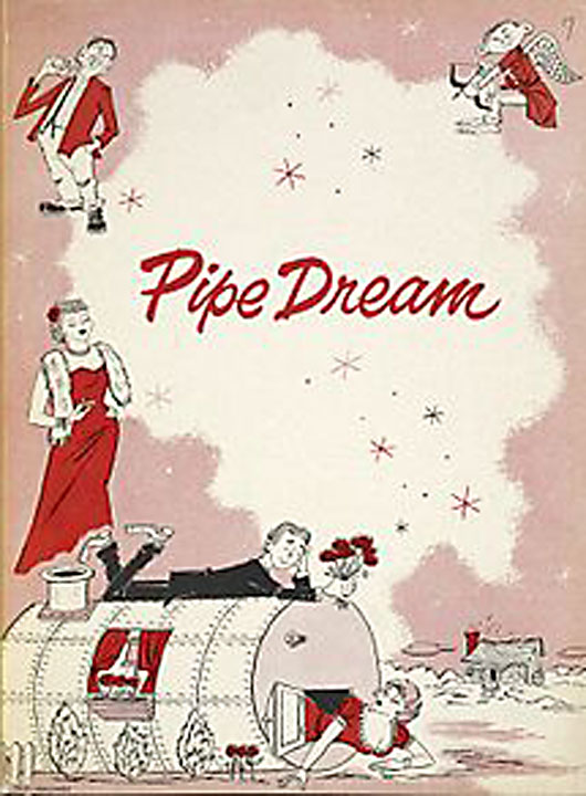The cover of Pipe Dream pictured, showing the story's main characters