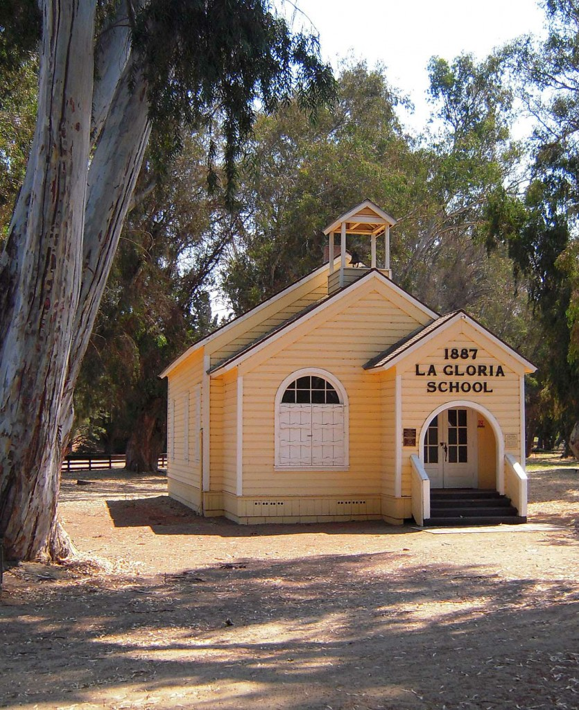 La Gloria Schoolhouse photograph by David Laws
