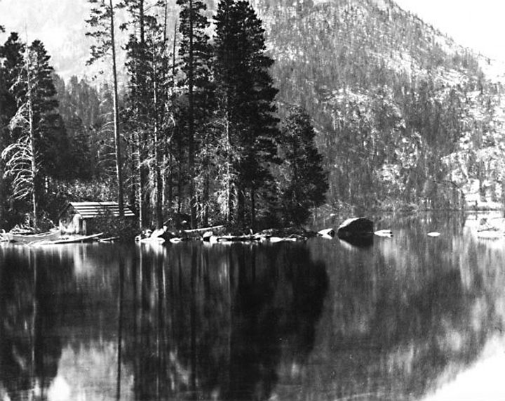 Cascade Lake, Tahoe, photo, a pre-Grapes of Wrath image on Steinbeck Country app