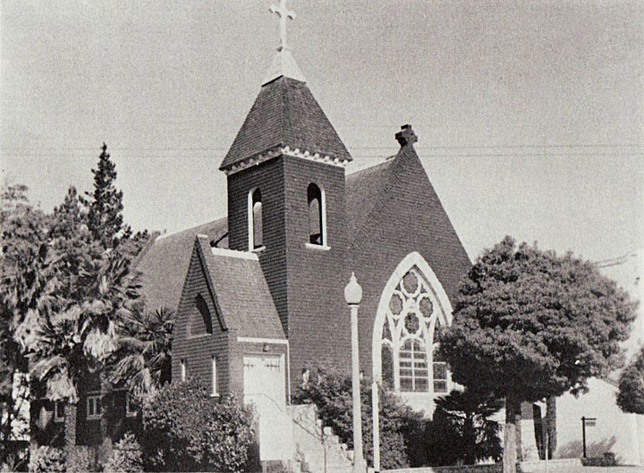 St. Paul's, an Anglican church, pictured in Salnas, California