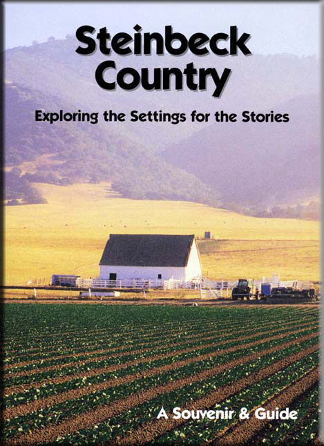 The cover of Steinbeck Country: A Souvenir & Guide