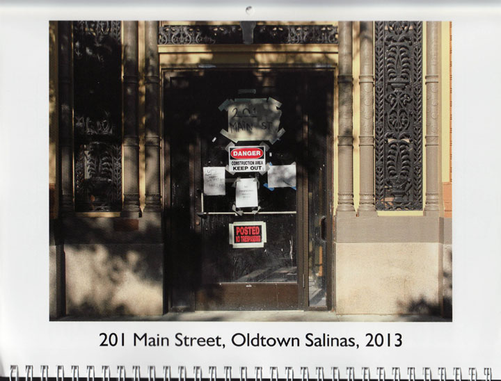"Image of ""201 Main Street, Oldtown, Salinas, 2013,"" photograph by Jessie Chernetsky"