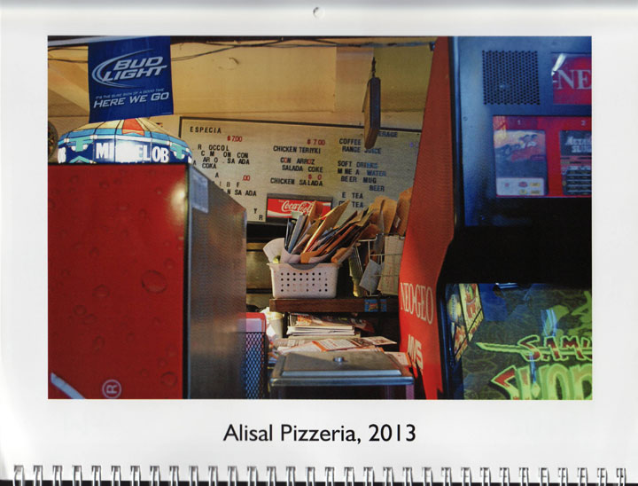 "Image of ""Alisal Pizzeria, 2013,"" photograph by Jessie Chernetsky"