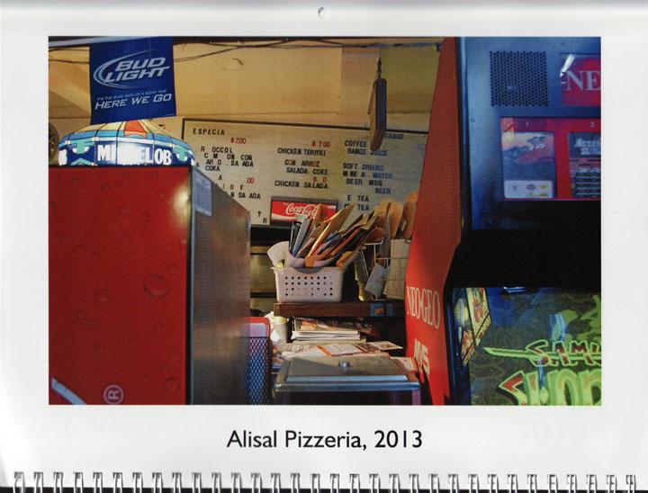 "Image of ""Alisal Pizzeria, 2013,"" photograph by Jessie Chernetsky"