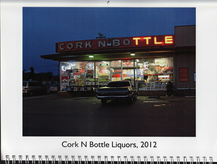 "Image of ""Cork N Bottle Liquors, 2012,"" photograph by Jessie Chernetsky"