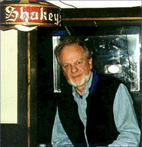 Image of James Kent at a Cannery Row gathering place