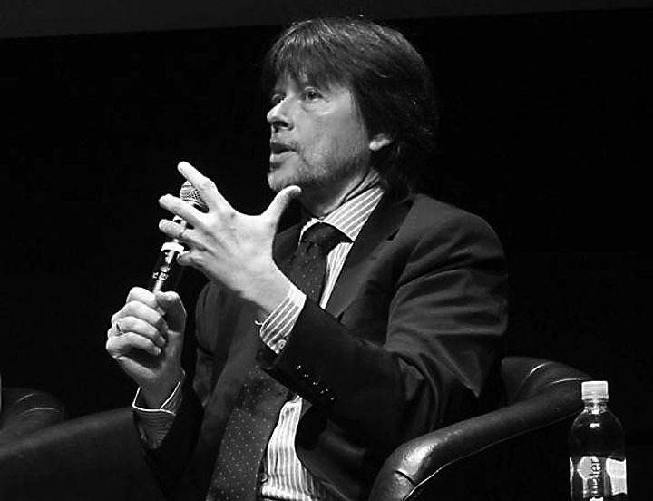 Image of Ken Burns, recipient of the 2013 John Steinbeck Award