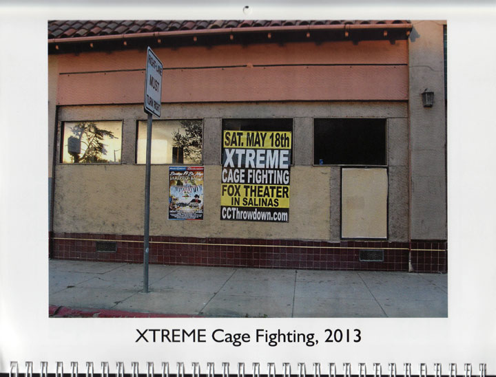"Image of ""XTREME Cage Fighting, 2013"" photograph by Jessie Chernetsky"