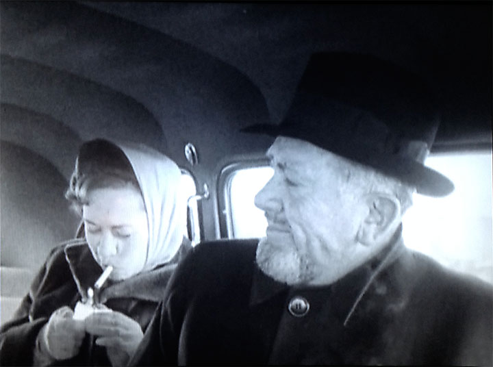 Image of Elaine and John Steinbeck following JFK's inauguration