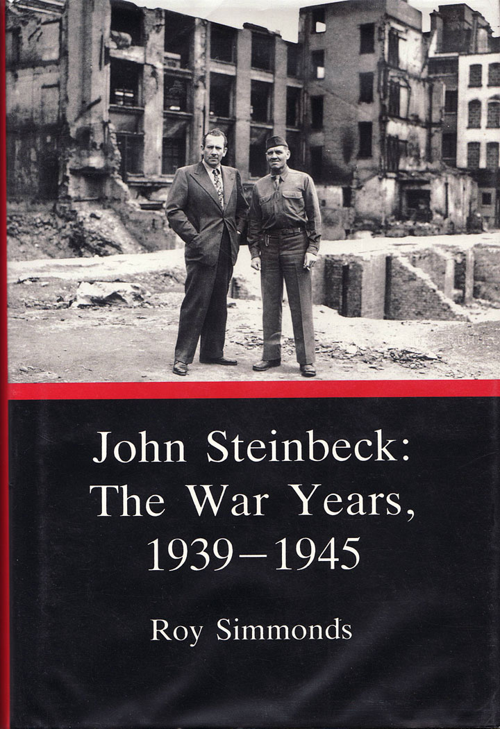 Image from cover of Roy Simmonds' World War II John Steinbeck biography