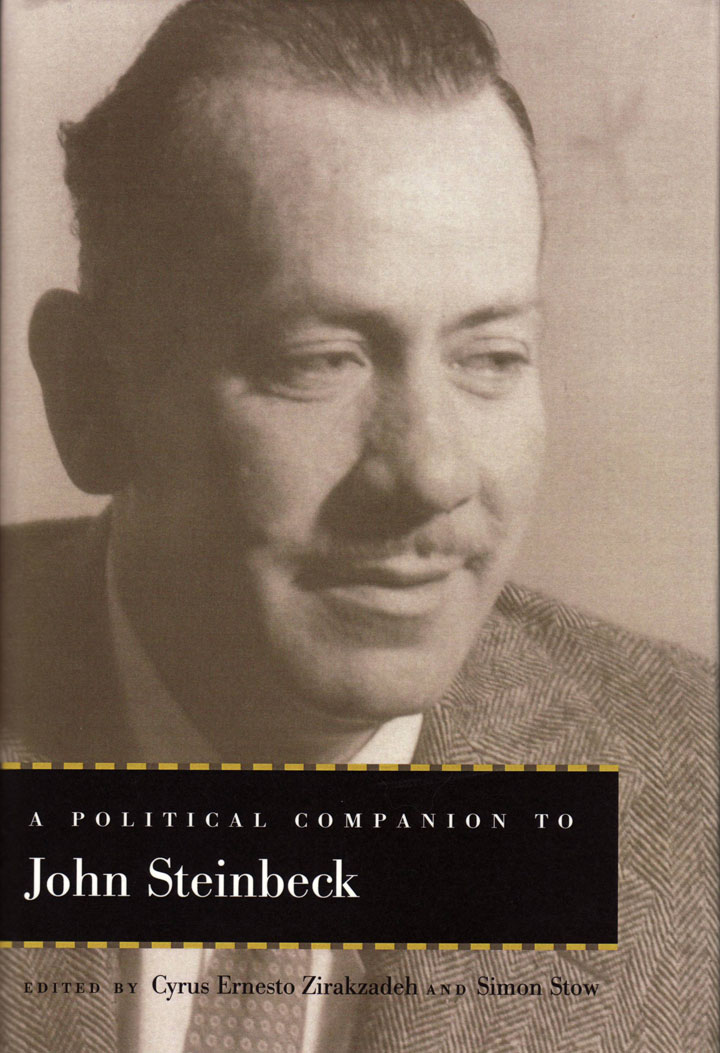 Image from cover of A Political Companion to John Steinbeck