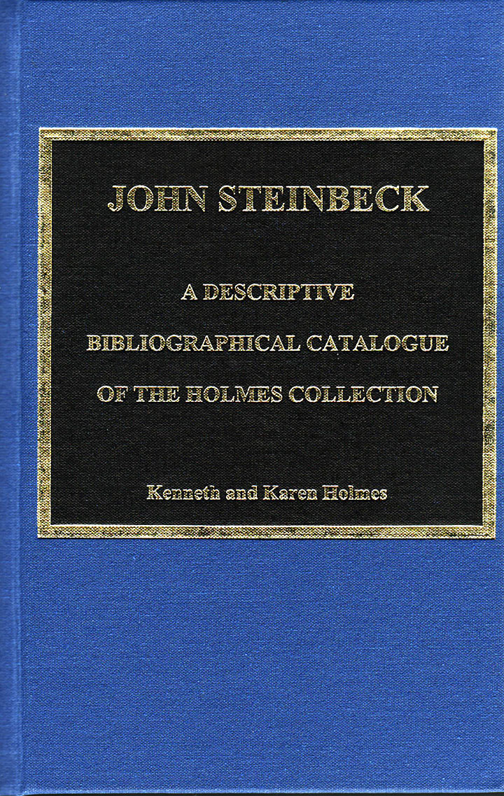 Image of books of John Steinbeck catalogye by Kenneth and Karen Holmes