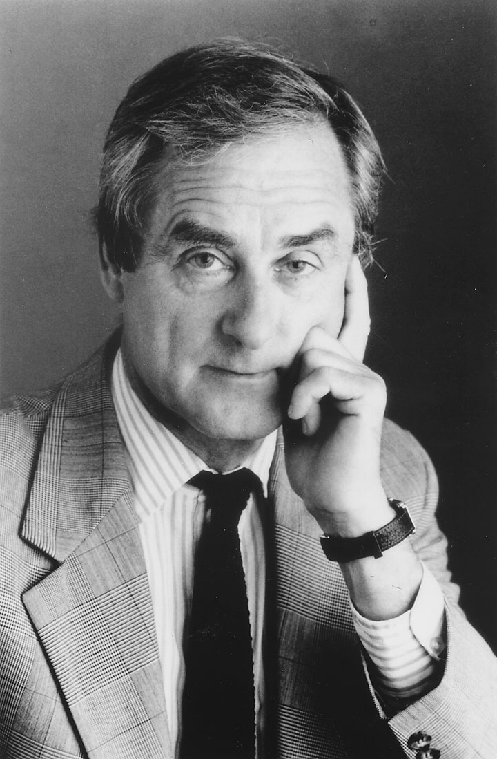 Image of author and editor Sir Harold Evans