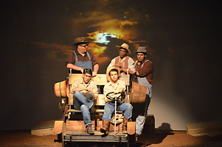 Image from Grapes of Wrath play production at San Jose State University