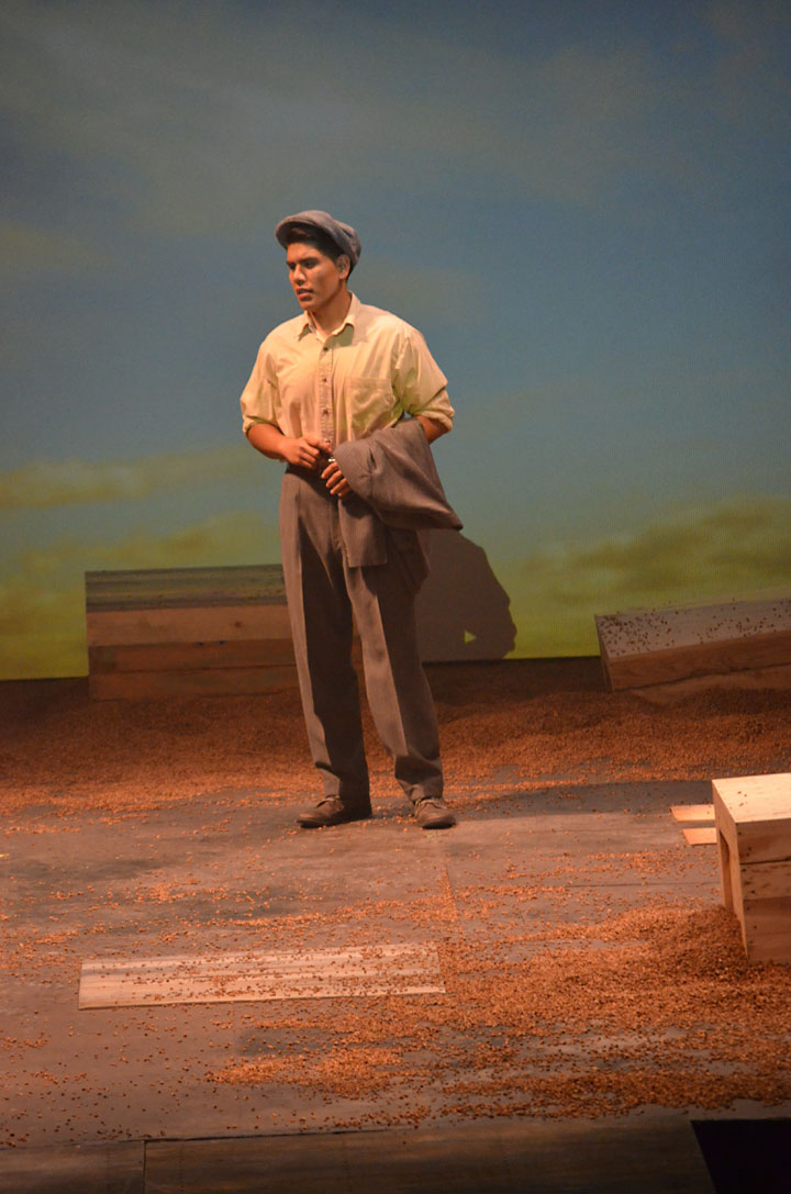 Image of Tom Joad, praised by Studs Terkel and recast for the stage
