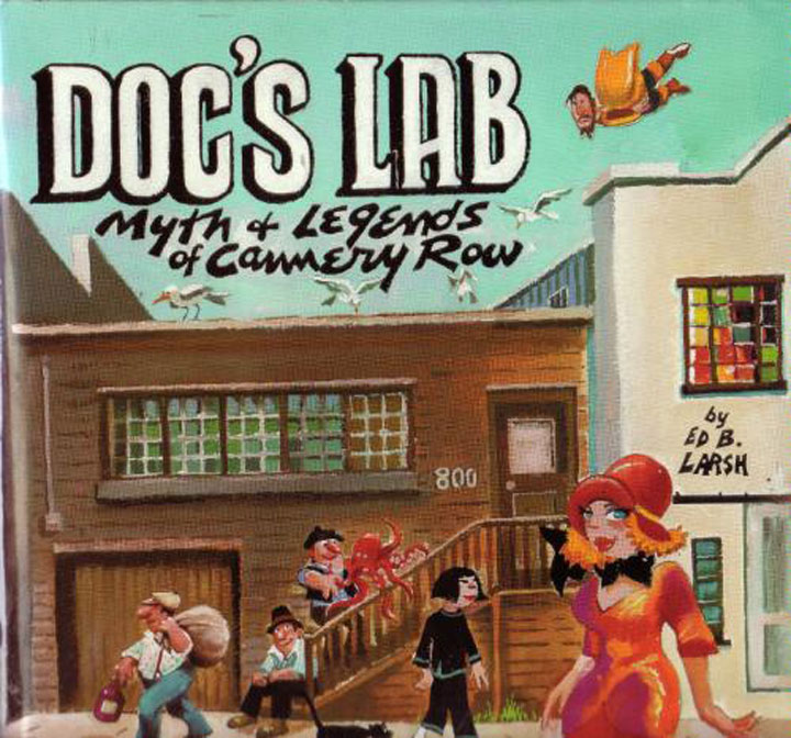 Cover image of Ed Larsh's book about Doc's lab