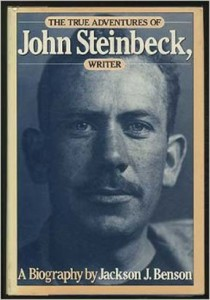 Image from cover of John Steinbeck's biography by Jackson Benson