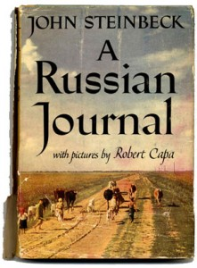 Image from cover of John Steinbeck's book A Russian Journal