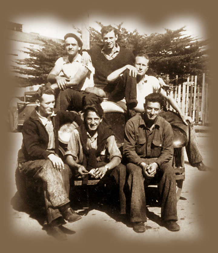Image of Cannery Row's real-life Mack and the Boys