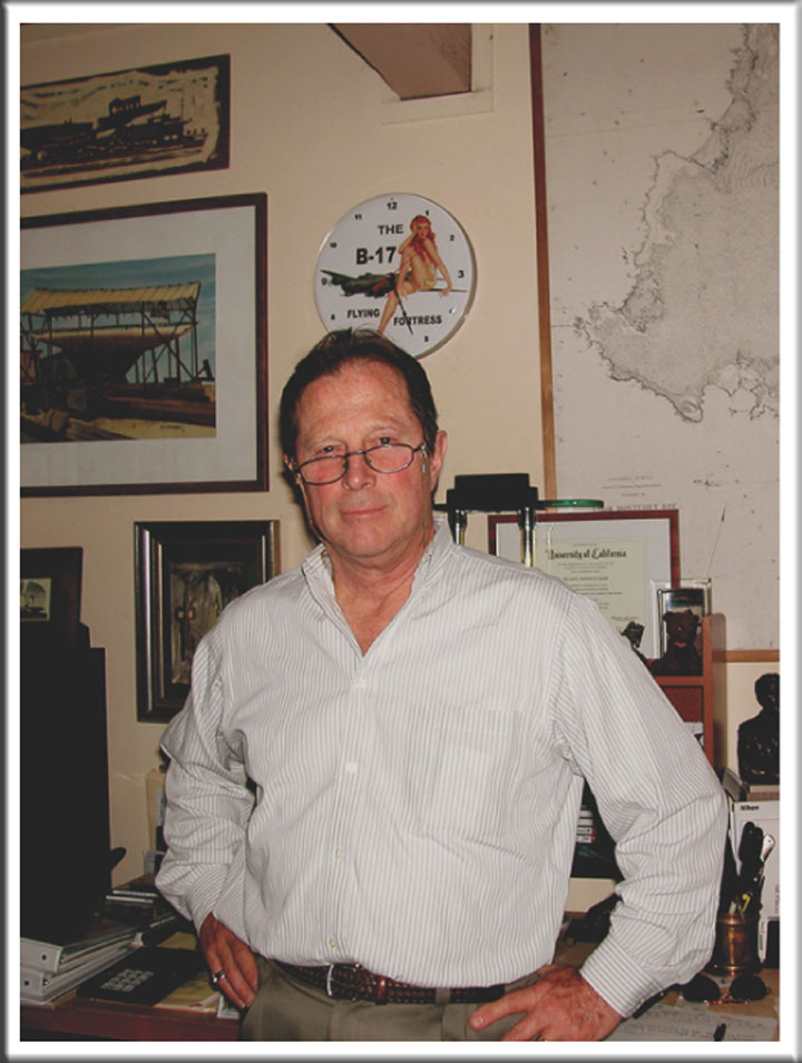 Image of Monterey, California historian Michael Kenneth Hemp