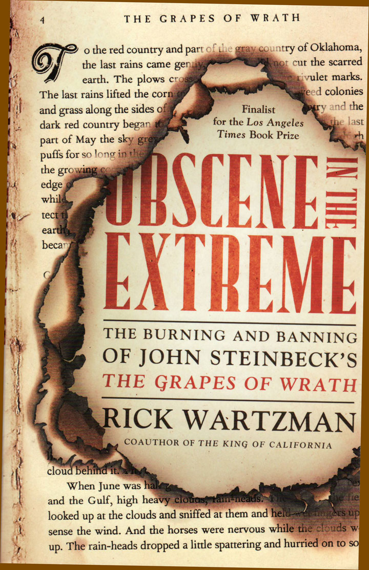 Image of Obscene in the Extreme: The Burning and Banning of John Steinbeck's The Grapes of Wrath