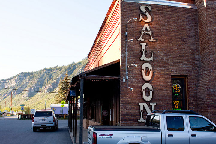 Image of The Saloon, Doc's Lab-style meeting place in Minturn, Colorado