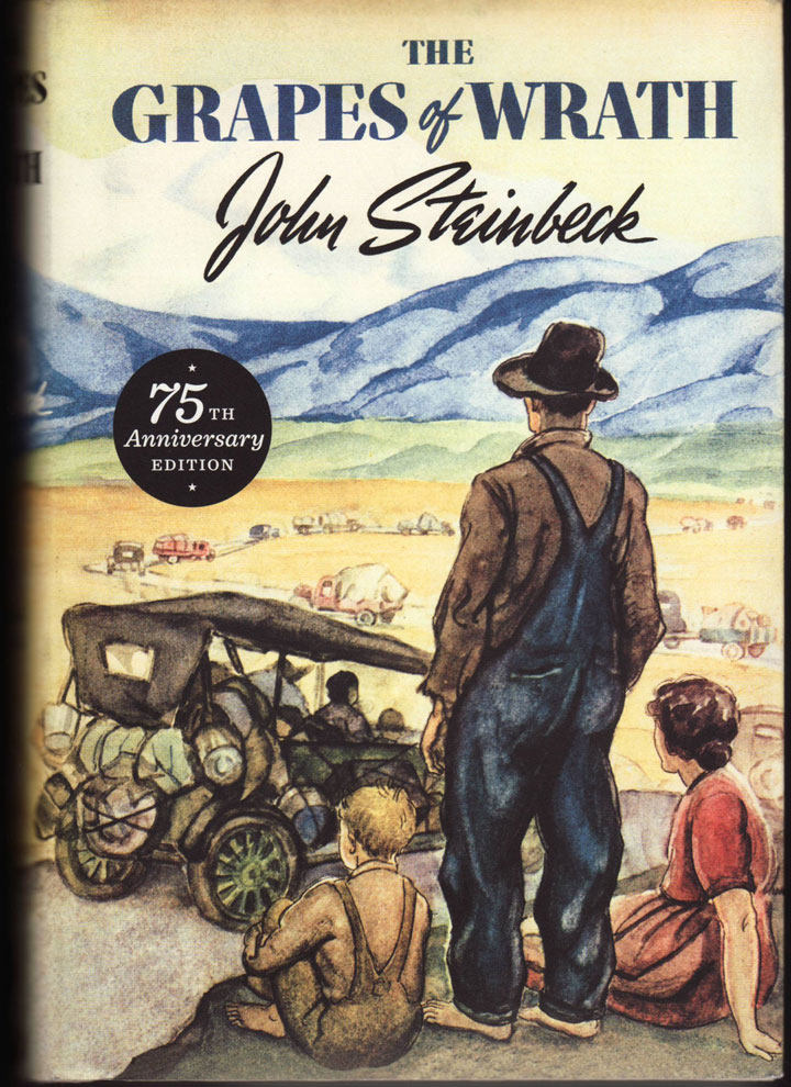 Cover image of John Steinbeck's Grapes of Wrath