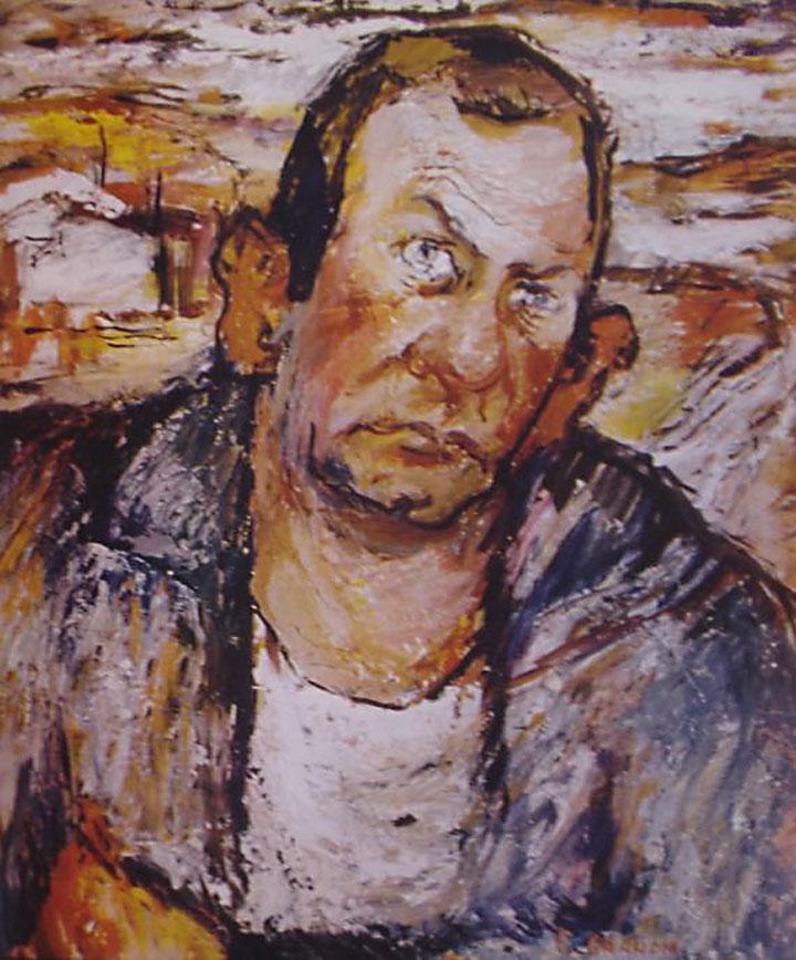 Image of John Steinbeck portrait by Ellwood Graham