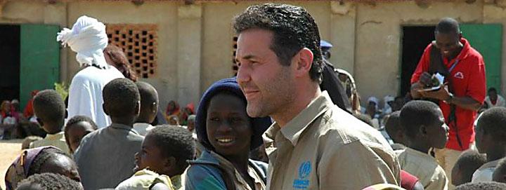 Image of Khaled Hosseini, founder of The Khaled Hosseini Foundation