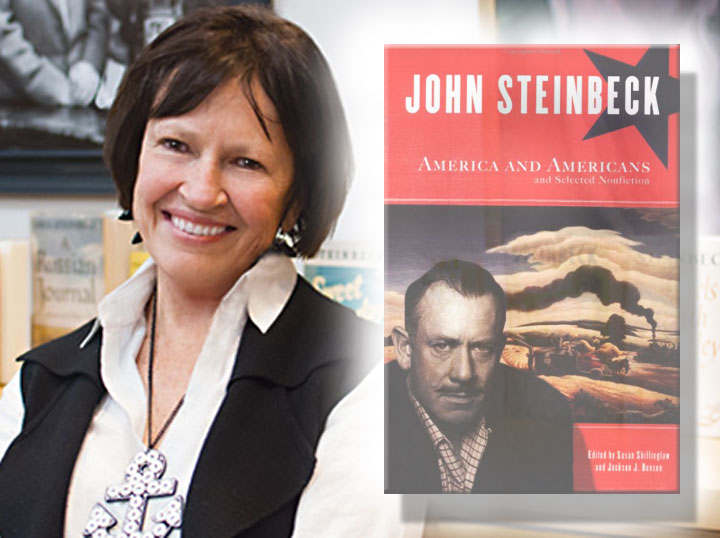 Image of Susan Shillinglaw and John Steinbeck anthology