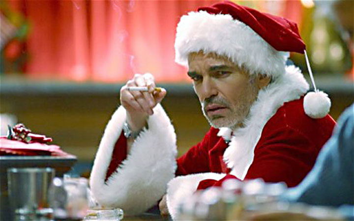 Image of Billy Bob Thornton as Bad Santa