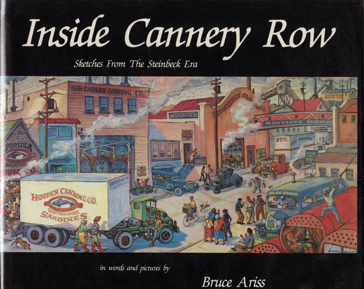 Cover image of Cannery Row sketches by Bruce Ariss