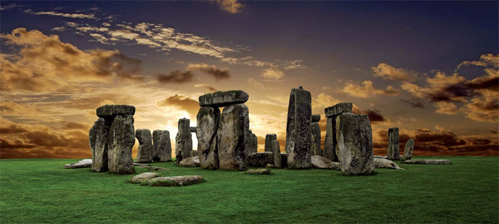 Image of Stonehenge in Great Britain