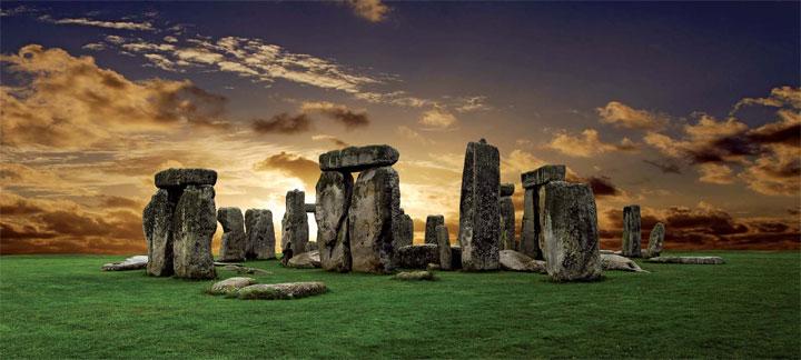 Image of Stonehenge in Great Britain