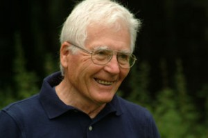Image of James Lovelock on earth