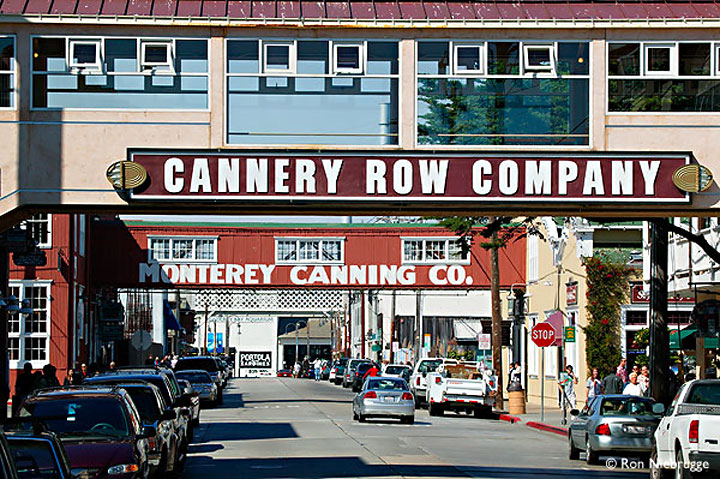 Image of Cannery Row in Monterey, California