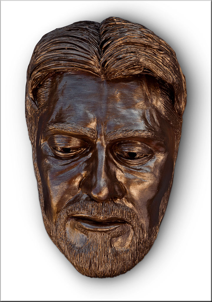 Image of Ed Ricketts, sculpture by Lew Aytes