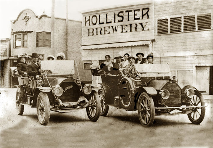 Image of historic Hollister, California brewery