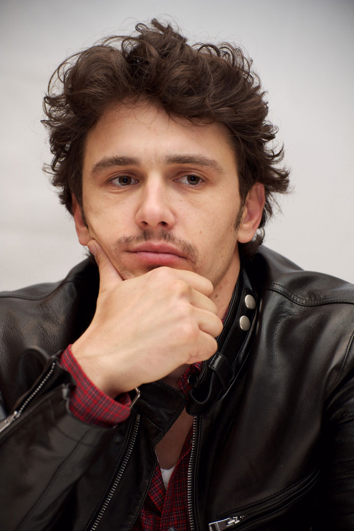 Image of James Franco, John Steinbeck fan