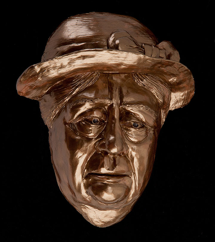 Image of Ma Joad from The Grapes of Wrath, sculpture by Lew Aytes
