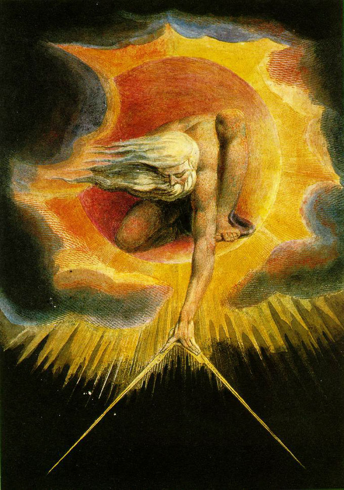 "Image of William Blake's ""Ancient of Days"""